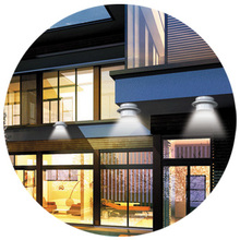 Superior Quality Outdoor Solar Lights Power Garden Lights 3 LEDs Sensor Solar Wall Corridor Lamp China Wholesale