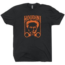 Harry Houdini T Shirt Magic Magician Tricks Poster Las Vegas Graphic Mens T Shirts Men'S T-Shirt Fashion Men Summer Style