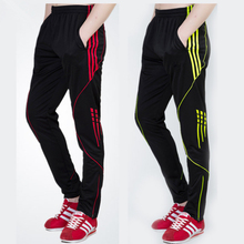 Brand Running Pants Men's Striped Training Sport Pants Breathable Fitness Football Basketball Sweatpants Male Pantalones