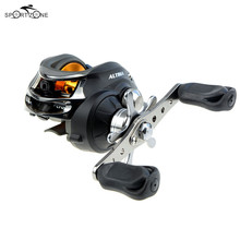 DMK 10 BB Left/Right Hand Baitcasting Reel G-ratio 6.3:1 Boat Bait Casting Fishing Reels Carp Carretilha Pesca Fishing Tackle