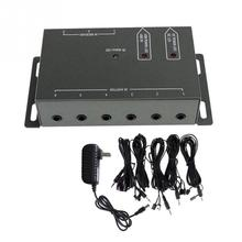 Brand New IR Remote Extender Transponder 1 Receiver 4 Emitters Infrared Repeater Hidden System Kit(China)