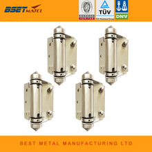 4 Pieces Mirror polish 316 Stainless steel Self Closing Hinges of glass to FLAT or square post  for glass swimming pool fencing