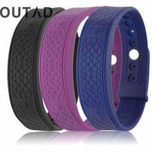 OUTAD Inteligent Heart Rate Monitor Band Temperature Fitness Bracelet Activity Tracker Wrist Bands Sport Style relogio masculino