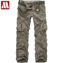 Free shipping Sale men's casual cotton cargo Pant combat camouflage pants trousers for man W28 29 30 31 32 33 34 36 38 CP001(China)