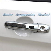 New Chrome Door Handle Cover Trim For Ford Explorer 2016 2017