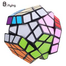 Free Shipping 12-side Megaminx Magic Cube Speed Puzzle Twist Education Intelligence Toy Gift(China)