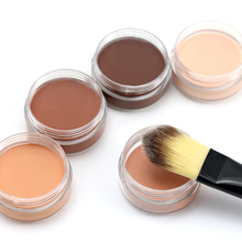 Professional Base Makeup Concealer Foundation Cream 5 Colors Oil-control Moisturizing Cover Pore Camouflage Contouring Palette