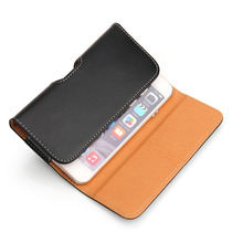 Universial 5.0inch Luxury PU Leather Case Holder Storage Pouch Bag for iPhone3/4 Carrying Full Protective Case for iPhone3/4