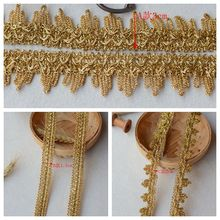 Three Types Exquisite Triangle Laciness DIY Curtain Gold Dress Decoration Accessories 1 Meter