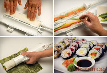 Sushi Roller Kit-Home Sushi Maker-Household cylindrical barrel sushi mold for Laver-Wrapped Rice DIY sushi Maker Roller Kit