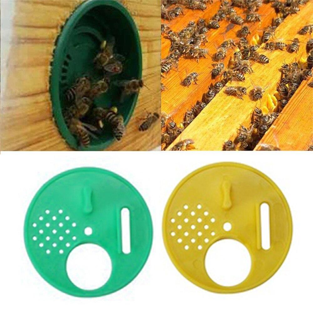 5 stücke Imker Beehive Nuc Box Eingangstore Imkerei Werkzeug Kunststoff