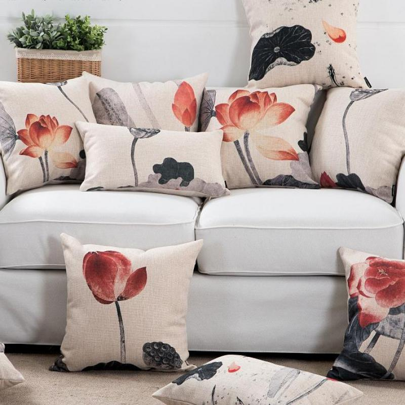 Green Pattern GG1 Cushion Pillow Cover European Design Stylish Modern Geometric