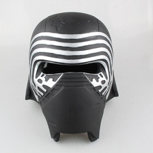 Top Grade Original do Filme Star Wars The Force Desperta Kylo ren máscara festa festival máscara facial halloween festival cabeça máscara