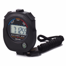 BAOLANDEWaterproof Digital LCD Stopwatch Chronograph Timer Counter Sports Alarm Oct 11