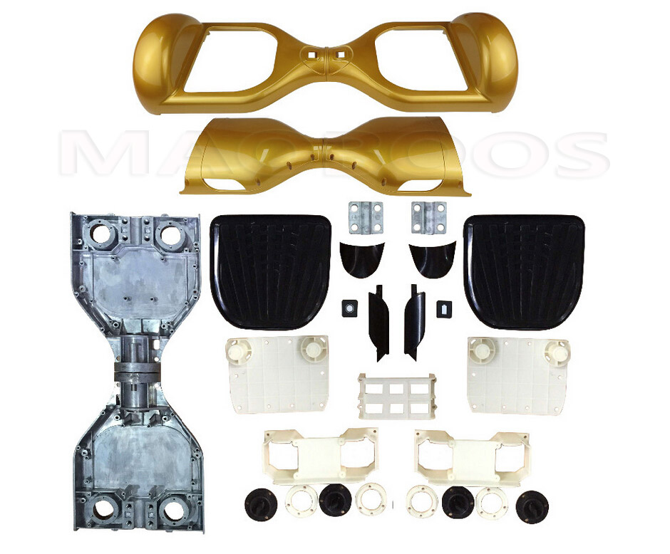 DHL shippingFull Kit for 6.5 inch Two wheel Self Balancing board Scooter Plastic Body Parts including Screws<br><br>Aliexpress