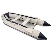 Ancheer 0.9 mm PVC Inflatable Boat 3.3 m 4-5 person Heavy-duty Sport Fishing Rescue Dinghy Boat Yacht Tender Raft