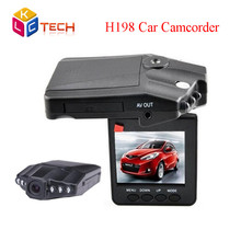 2016 HOT Selling HD H198 Car DVR with 2.5 Inch 270 Degree Rotated Screen + 6 IR LED + Motion Detection Car Camera Camcorder