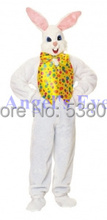 Professional Custom Mascot Fun Bunny Mascot Costume Adult Size Easter Bunny Rabbit Costumes for Holiday Carnival Party Games