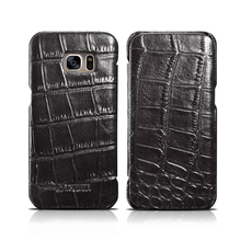 For Samsung S7 Edge Case Luxury Crocodile Snake Print Leather Cases Back Cover For Samsung S7 Phone Bags Coque Capa
