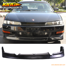 Fit for 1997-1998 NISSAN 240SX S14 SR20 Silvia KOUKI JDM GR STYLE FRONT BUMPER LIP(China)