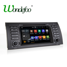 Android 7.1.1 RAM 2G / 1G Quad core 1024*600 screen 2 DIN Car DVD GPS Radio stereo For BMW E53 E39 X5 wifi 3G GPS USB SWC AUDIO(China)