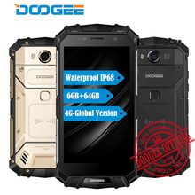 "DOOGEE S60 IP68 Waterpoof Dustproof Mobile phone 5580mAh 6GB+64GB 5.2"" FHD Helio P25 Octa Core 12V2A 21MP Fingerprint Smartphone"