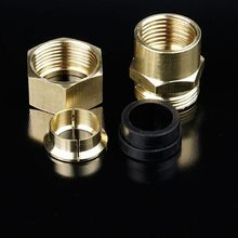 1/2'' Female/male to 15.8mm Gas Pipe Corrugated Connector Adapter Coupling Fitting Copper Brass Joint Special Purpose