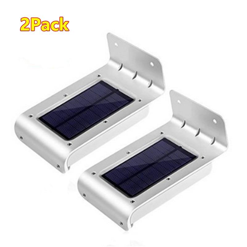 2 PCS  Uniquefire 16 LED Solar Power Motion Sensor Light Outdoor Waterproof Wall Lights For Home Garden Yard<br><br>Aliexpress