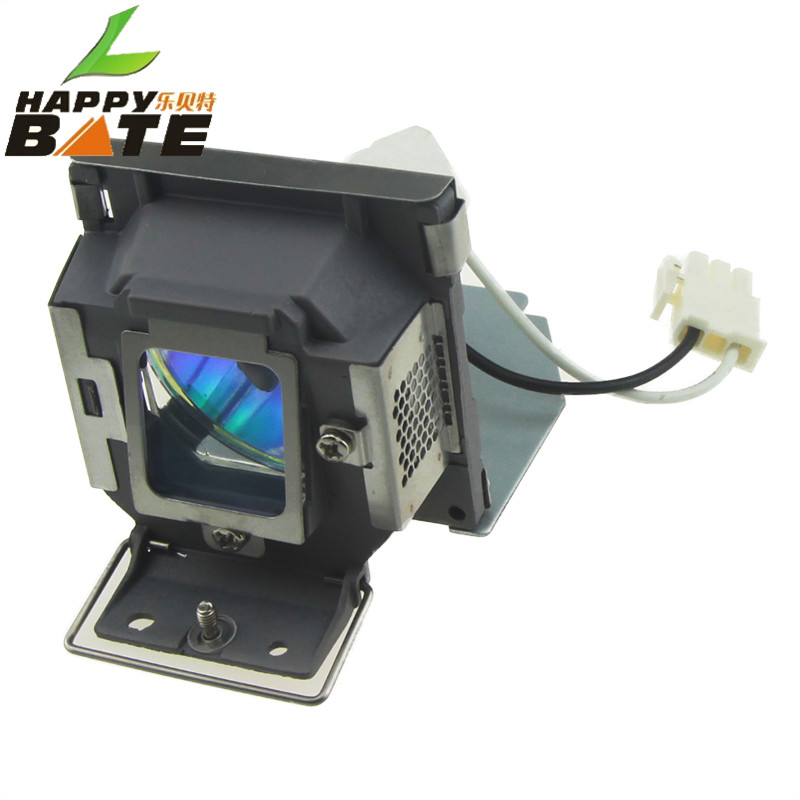 HAPPYBATE Replacement Projector Lamp 5J.J0A05.001 for MP515 / MP525 / MP515S / MP525ST /MP526 /MP515ST /MP576 With Housing<br>