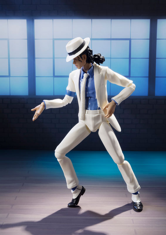 Michael Jackson Smooth Criminal Moonwalk Collection Figure Model Toys 14cm