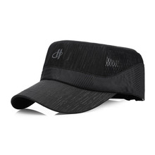 2017 new Korean men's hat spring and summer otdoor fashion ladies flat top hat leisure breathable sports cap M-163