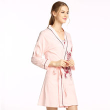 9a69692372 Towel Bath Robe Dressing Gown Unisex Men Women Sleeve Solid Cotton Waffle  Sleep Lounge Bathrobe Peignoir Nightgowns Lovers Robes