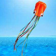 high quality large octopus kite with handle line children kites wholesale kite(China)