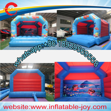 free air shipping to door,4*4m finding nemo inflatable bouncer,inflatable jumper,kids bounce house