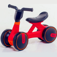 Buy Four-wheel children's balance bike Lightweight portable 6months-3years old Kid's balance bicycle Exercise balance pedal bike for $40.11 in AliExpress store