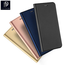 DUX DUSIC Fashionable Magnetic Closure PU Leather Case for iPhone 5 5s SE 5SE 5G Ultra Slim Folio Flip Book Phone Cases Cover