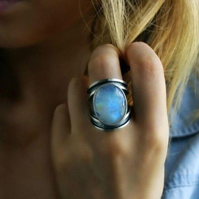 Bague en pierre de lune | oko oko