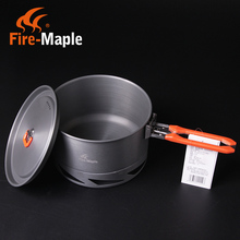 Fire Maple Lightweight Outdoor Camping Hiking Cookware Kit Backpacking Cooking Picnic Heat Exchanger Pot 1.5L