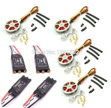5010 360kv / 750kv Brushless motor + Readytosky 40A ESC OPTO 2-6S similar quality as Hobbywing XRotor 40A for Quadcopter