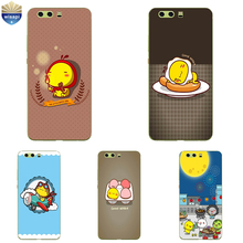 DIY For Huawei P10 / P10 Plus Phone Case For Huawei Enjoy 6 Shell 0.6mm Soft TPU For Enjoy 6S Coque Poached Egg  Design Painted