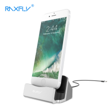 RAXFLY 5V/1A USB Charger Dock Holder For iPhone Type-c /Micro Desktop Fast Charger Station Data Support For Samsung Huawei