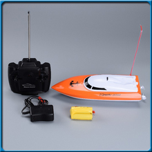 RC Boat Fishing Boat Mini RC Racing Boat Realistic High Speed Yacht Water Playing Electric Remote Control Ship Bait Boat Toy(China)
