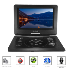 GKN-101 10.1Inches Portable DVD Player Portatil 16:9 TFT Screen Pixe 1024 * 600 SD/USB/AV for Gamepad TV DVD/CD/MP3 US/EU Plug(China)