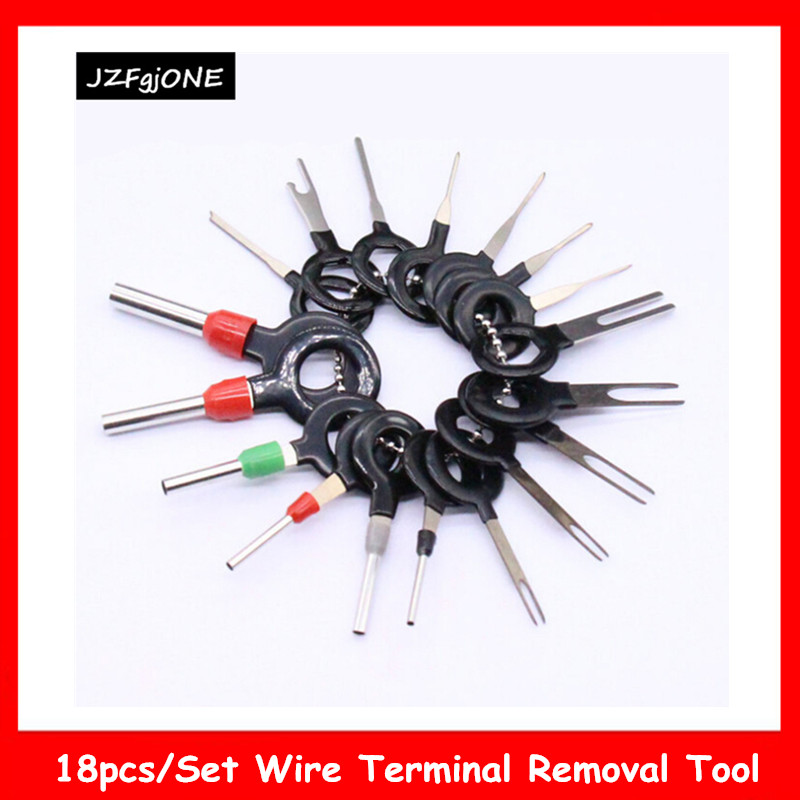 36Pcs Car Terminal Removal Tool Wire Plug Connector Extractor Release Pin XY