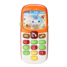 New Electronic Toy Phone Kid Flashing Sounding Mobile Phone Cellphone Telephone Educational Toys Gift