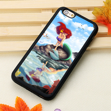 tattooed disney princesses Mobile Phone Cases OEM For iPhone 6 6S Plus 7 7 Plus 5 5S 5C SE 4S Soft Rubber Back Cover Shell