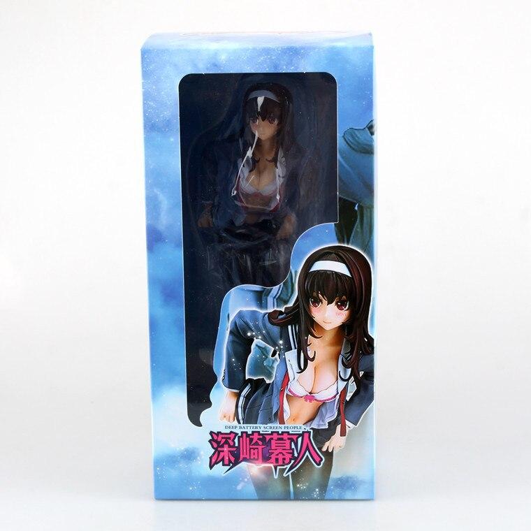 Hot  23cm  Skasumigaoka utaha free shipping adult Figures PVC car toy decoration  Mini toy  comic<br><br>Aliexpress