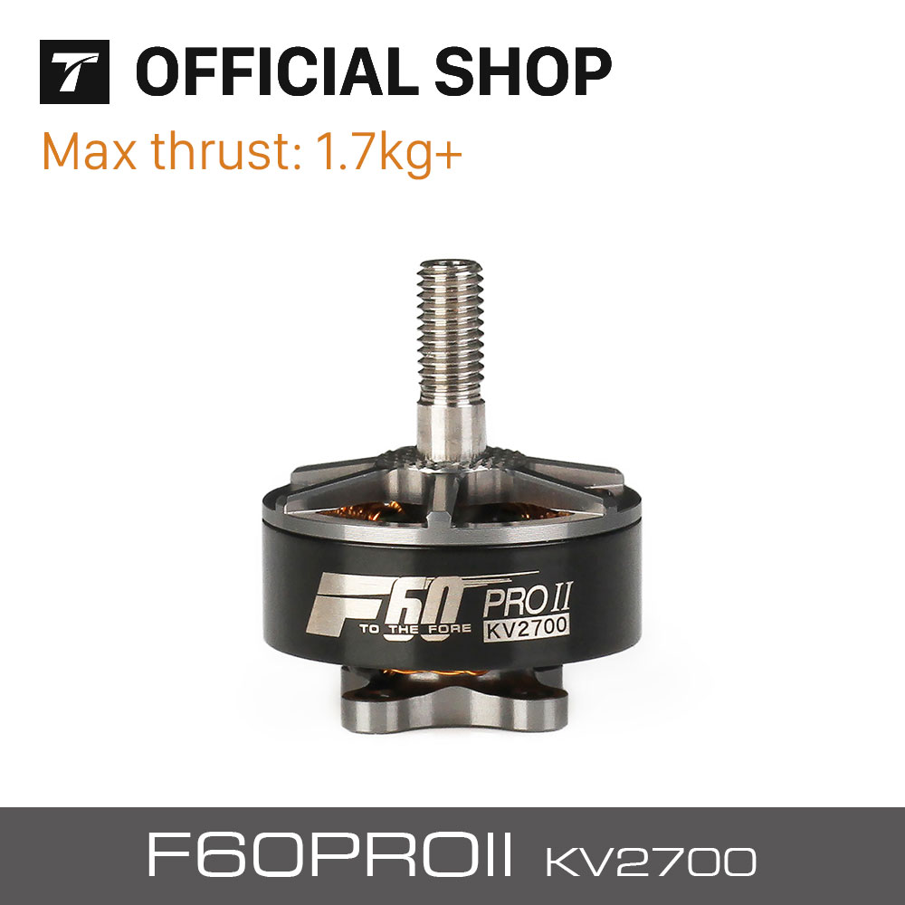 T-motor F60 PRO II 2700KV Adamantium Grey Brushless Electrical Motor For VTOL Racing Airplane Multicopter Drone<br>