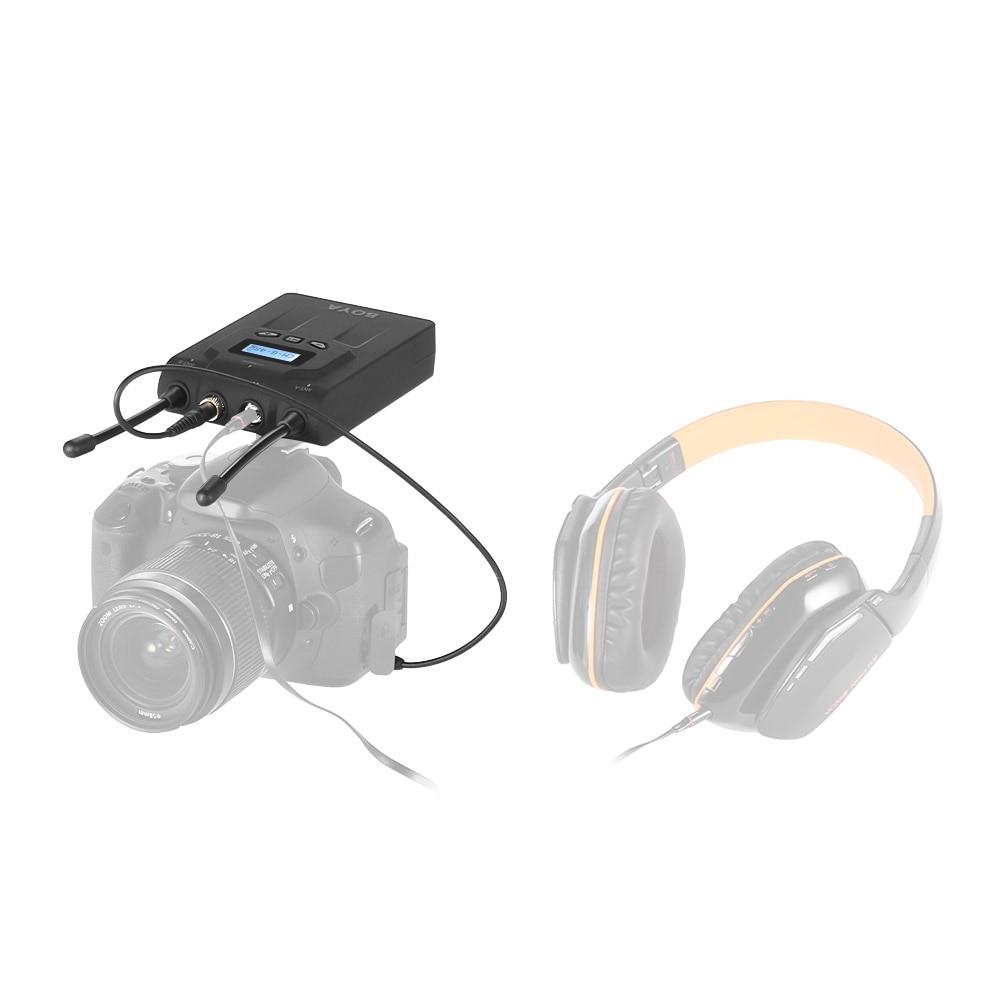 BOYA-BY-WM8R-UHF-Dual-Anrenna-Wireless-Microphone-Mic-Receiver-48-Chs-for-ENG-EFP-for