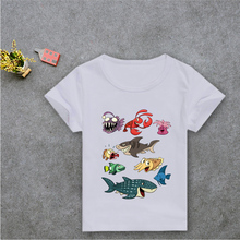 2017 new fashion animal printing kids t shirts brand clothing cute tops children kawaii streetwear homme t shirts boys clothes